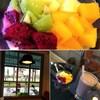 自家製ヨーグルト&新鮮フルーツ朝ご飯