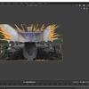AzureKinectから取得したカラー画像とデプス画像を使ってBlenderで立体を再構築する その1(テクスチャの反映)