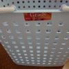 洗濯物が大容量で持ち運び便利 アスベル ランドリーバスケットL  グレディー 購入後レビュー
