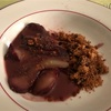 友人宅で洋梨を使ったフルコース(フロマージュ・シェーブルと洋梨のパイのレシピ付き)