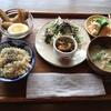落ち着いた空間はおひとりさまランチにぴったり!鳥取市のCAFEcyucue(キュキュ)の限定10食日替玄米定食はバランスの良いヘルシー手作りごはんでした