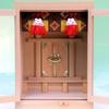 箱型の神棚に取り付けるスダレ 神前幕か御簾かみたいな選択