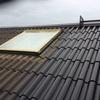 北側屋根の塗装 上塗り2回目