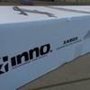 ルーフボックスの隣に取り付けできるスリムなルーフラック「innoシェイパー50(XA503)」を購入