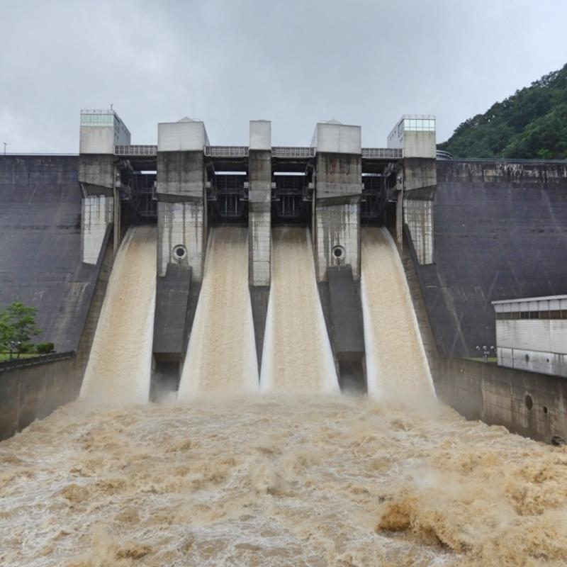 恐ろしかった西日本豪雨 その時日吉ダムは…。今こそ防災について考えよう