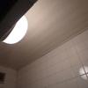 風呂場の天井のカビキラー