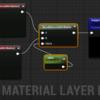 UE4-4.19 で Material Layers を試用する手順