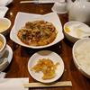 パンダレストランで肉団子と白菜の煮込み