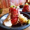 お肉の山!ローストビーフ丼@鹿児島市中央町