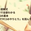 【イラスト図解式 この一冊で全部わかる Web技術の基本】 「3-8.HTTP/2のやりとり」を読んで