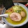 【今週のラーメン795】 麺屋 利休 (東京・国分寺) 味玉塩らあめん・中盛り