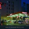 Aero 394   gas station