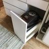 炊飯器ワゴン下の収納蓋