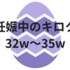妊娠中のキロク【32w~35w】