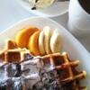 【料理】休日の朝食事情。簡単便利『Vitantonio(ビタントニオ)』でワッフル朝ごはん!