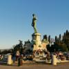 【フィレンツェ観光】ミケランジェロ広場からフィレンツェの街を眺める!