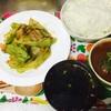 久しぶりに晩御飯作った・・・