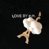 LOVE BY e.mのピアス