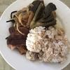 鰹のお刺身と素麺