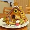 お菓子の家づくり 無印良品生地からつくるヘクセンハウスを作ってみた