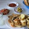 モロッコ1人旅行記 海のある街 カサブランカ 魚市場そばのお店で絶品揚げたてシーフードをいただく^^
