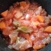 放置無水野菜スープ 無水鍋使用