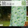 ムーミングッズ・インテリア~すがすがしい気持ちになれるグリーンのカーテン~