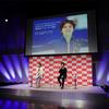 「コラントッテ」の磁気健康ギア〈TAO ネックレス スリム ARAN mini【SHOMA2021】〉の発売記念イベントが開かれ、宇野昌磨選手が出席しました。