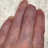 『人間って、文字を書く時に、指に力を入れるものなのかな?』と思ったこと。。。