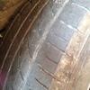 クサラピカソのタイヤ交換