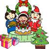 2017年のクリスマスパーティ&クリスマスプレゼントは、「ロッテオンラインショップ」で決まり!!~ケーキにピッツァにおかし~