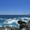 すさみで荒れた海を撮る その2 フェニックスの褶曲から黒崎まで