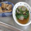 幸運な病のレシピ( 549 )昼:イワシツミレ汁、イワシ米糠漬け