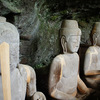 岩窟に祀られる3mの巨像 龍岩寺(りゅうがんじ)三尊仏像