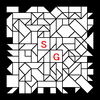 四角渡り迷路:問題17