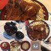 【軽井沢シッピングプラザ味の街】明治亭軽井沢店:名物のソースカツ丼に大満足
