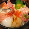 近江町市場にあるお店で食べた海鮮丼