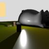 Omnidirectional Shadow Mapping(全方位シャドウマップ)を実装した