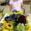 花を描く 2014、8月