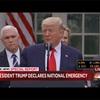 ついにアメリカは国歌非常事態宣言を表明…  アメリカの凄さ、トランプ大統領のリーダーシップを強く感じました。