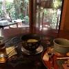 京都 |  すだれと蚊取り線香と扇風機。