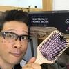 髪の毛のお手入れを劇的に簡単にする「エレクトン パドル ブラシ」は朝の忙しい時間を楽にしてくれます。