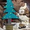 手作りLEDクリスマスツリー