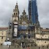 サンティアゴ・デ・コンポステーラ大聖堂をもう一回見てから空港へ