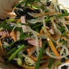 ネギたっぷり!海苔とネギのサラダ
