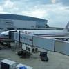 AA114 JFK-LHR B777-200ER BusinessClass 9J「羽田発(NY経由)ロンドン行き」