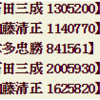 火力測定メモ:弓隊 200万www
