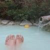 別府明礬温泉「岡本屋」の青磁色のお湯はpH2.6の酸性だけどなめらかな温泉