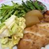 【和】冷凍ササミで和定食