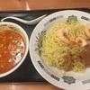 エビ辛とんこつつけ麺(日高屋)
